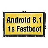 Pumpkin 9 Zoll Android 8.1 Autoradio Moniceiver für VW mit GPS Navi Unterstützt Bluetooth DAB +...