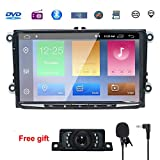 NVGOTEV 9 Inch Android Double Din Compatible for Golf, 8.1 Android CAR Stereo Radio Video Receiver...