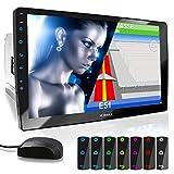 XOMAX XM-2VN1003 Autoradio mit verstellbarem XXL Touchscreen Bildschirm (10'/25 cm) I Mirrorlink I...