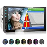 XOMAX XM-2VN751 Autoradio mit Mirrorlink, GPS Navigation, Navi Software, Bluetooth...