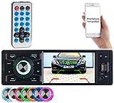 Creasono Autoradios: MP3-Autoradio mit TFT-Farbdisplay, Bluetooth, Freisprecher, 4 x 45 Watt (Autoradios 1 Din, Bluetooth)
