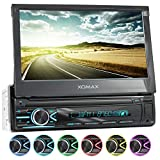 XOMAX XM-V746 Autoradio mit Mirrorlink I 7 Zoll / 18 cm Touchscreen I Bluetooth...
