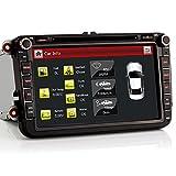 iFreGo 8' AUTORADIO DVD 8 zoll GPS Für VW Golf,Passat,Tiguan,Polo,Jetta,Skoda Fabia Octavia,Yeti,...