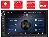 M.I.C. AU7-Lite: Android 9 Autoradio Naviceiver Moniceiver Navigation: PX30 2G+32G 7 Zoll Bildschirm...