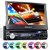 XOMAX XM-DTSBN933 Autoradio mit GPS Navigation, Bluetooth Freisprecheinrichtung,18 cm Touchscreen...