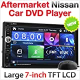 17,8cm Pkw-DVD-Player, USB MP3-Stereo-Radio für Nissan Juke, Qashqai Navara X-Trail, Nissan Pathfinder, Micra NV200Combi.