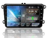 Tristan Auron BT2D7023VW Autoradio Android 8.1, 7'' Touchscreen I mit Navi I Freisprecheinrichtung I...
