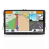 YUNTX Android 10.0 Autoradio Compatible Avec VW Passat/Golf/Skoda/Seat - GPS 2 Din - Caméra...