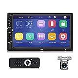 Autoradio Bluetooth - Doppel Din Autoradio mit 7'' Touchscreen Unterstützung...