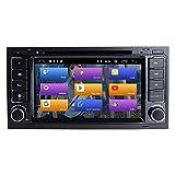 BOOYES Für VW Volkswagen Touareg T5 Transporter Android 10.0 Doppel Din 7'Auto DVD-Player...