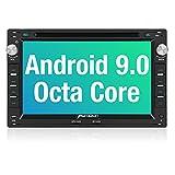 PUMPKIN Android 9.0 Autoradio Radio für VW Passat Golf Polo mit Navi Unterstützt Bluetooth DAB +...