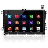 OiLiehu Android Auto Radio Mit Navi FüR Vw 9 Zoll Touchscreen Autoradio UnterstüTzt...