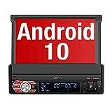 PUMPKIN Android 10 Autoradio Moniceiver mit Navi Unterstützt Bluetooth DAB+ DSP Android Auto WiFi...