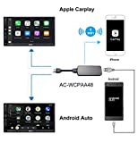 ATOTO AC-WCPAA48 Kabelloses CarPlay und kabelgebundenes Android Auto - Kompatibel mit iPhone oder...