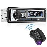 Aigoss Autoradio mit Bluetooth Freisprecheinrichtung, 1 Din Universal 60w x 4 Stereo Radio,...
