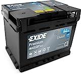 Exide EA640 Premium Carbon Boost Autobatterie 12V 640A 64Ah