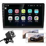 10.1' Autoradio Android - Bluetooth Autoradio mit Navi, Freisprecheinrichtung, Rückfahrkamera,...