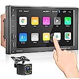 Autoradio Bluetooth - Android Doppel Din Autoradio mit Navi,MP5 Player 7'' Touchscreen...