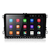 Podofo 9 Zoll Android Autoradio für VW Doppel Din Autoradio Bluetooth GPS Auto Radio Player für VW...