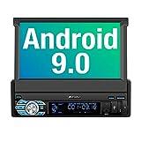 PUMPKIN Android 9.0 Autoradio Moniceiver mit Navi Unterstützt Bluetooth DAB+ DSP Android Auto WiFi...