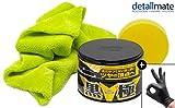 detailmate Wachs Set: Soft99 Extreme Gloss Wax The Kiwami Dark, Carnauba Autowachs Lackversiegelung...