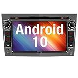 Vanku Android 10 Autoradio für Opel Radio mit Navi CD DVD Player Unterstützt Qualcomm Bluetooth...