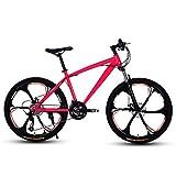 D&XQX Erwachsene 24 Zoll Mountainbike, Strand Snowmobile Fahrrad, Doppelscheibenbremse Fahrräder,...