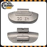 20g Schlaggewichte Auswuchtgewichte Wuchtgewichte für Stahlfelgen 100 Stück