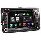XOMAX XM-10GA Autoradio mit Android 10 passend für VW SEAT Skoda, 2GB RAM, 32GB ROM, GPS...