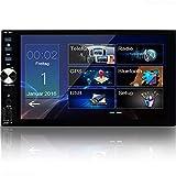 Tristan Auron BT2D7026 Autoradio - 7'' Touchscreen Bildschirm I Doppel Din I Win CE Betriebssystem -...