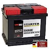 LANGZEIT Autobatterie 12V 54Ah ersetzt 44AH 45AH 46AH 50AH 52AH 53AH 55AH Starterbatterie KFZ PKW...