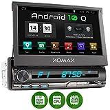 XOMAX XM-VA774 Autoradio mit Android 10, QuadCore, 2GB RAM, 32GB ROM, GPS Navigation I Support: WiFi...