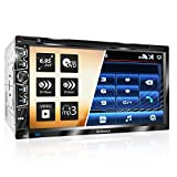 XOMAX XM-2D6907 Autoradio mit Mirrorlink für Android I kapazitiver 6,9' / 17,5 cm Touchscreen...