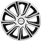 Michelin Louise, Silber/Schwarz, 14' Zoll. (4 x Universal Radzierblenden/Radkappen)