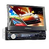 "XOMAX XM-VRSUN741BT Autoradio mit GPS Navigation I Bluetooth I 7"" / 18cm Touchscreen I USB, SD, AUX..."