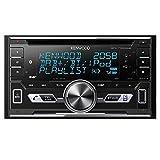 Kenwood DPX-7100DAB Doppel-DIN-Receiver mit iPod-Steuerung / Bluetooth-Freisprecheinrichtung und...