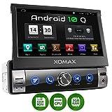 XOMAX XM-VA760 Autoradio mit Android 10, QuadCore, 2GB RAM, 32GB ROM, GPS Navigation I Support: WiFi...