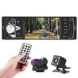 Qiilu 4.1 Autoradio Zoll HD Bluetooth Feihändiges Auto MP5 Spieler Video FM Radio AUX TF USB...