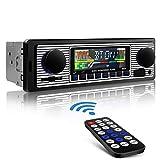 Aigoss Autoradio mit Bluetooth Freisprecheinrichtung, USB/SD/AUX / MP3-Media-Player, 4 X 60 Watt...