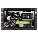 Android 10.0 Dual-FM Tuner Autoradio Eingebautes Android Auto+CARPLAY 2GB+32GB Rohm-DSP Bluetooth...