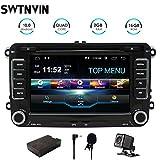 SWTNVIN Android 10.0 Auto Audio Stereo Kopfeinheit passt für Volkswagen Skoda DVD Player Radio 7...