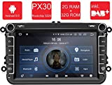 M.I.C. AV8V5-lite Android 9 Autoradio Radio Navigationssystem:DAB+ digitalradio Bluetooth WLAN 8...