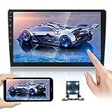 Doppel Din Autoradioempfänger 10,1 Zoll 2,5 D HD, Android 8,1 Touchscreen MP5 Multimedia,...