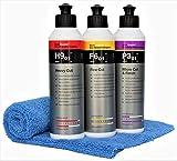 Koch Chemie Polierset Set Heavy Cut H9.01 250 ml Schleifpolitur + Feinschleifpaste F6.01 + P3.02...