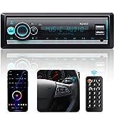 Autoradio mit Bluetooth Freisprecheinrichtung Bass Sound, CENXINY Autoradio Bluetooth Version 5.0...