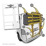 Lackschutzpads passend für Fahrradträger Modell Siehe Beschreibung - Selbstklebende, transparente...