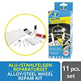ATG ALU-FIX Alu-Felgen-Reparaturset – Alufelgen schnell und einfach reparieren – inkl. Lackstift...
