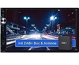 Tristan Auron BT2D7025A Autoradio + DAB+ Box, Android 10.0, 7'' Touchscreen Bildschirm, GPS Navi,...