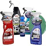 SONAX Premium Reinigungs-Set 9-teilig | Das Starterpaket für eine Komplettreinigung für innen und...