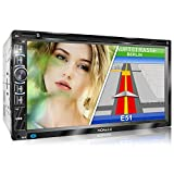 XOMAX XM-2DN6906 Autoradio mit Mirrorlink I GPS Navigation I Navi Software inkl. Europa Karten I...